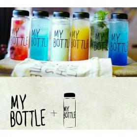 Botol Minum Plastik Bening Juice Lemon My Bottle 500ml - Pink - 8