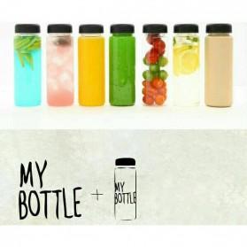 Botol Minum Plastik Bening Juice Lemon My Bottle 500ml - Pink - 9