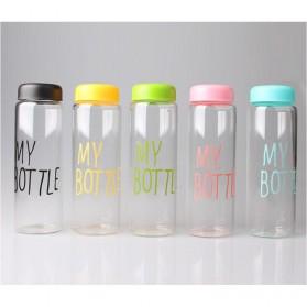 Botol Minum Plastik Bening Juice Lemon My Bottle 500ml - Pink - 10