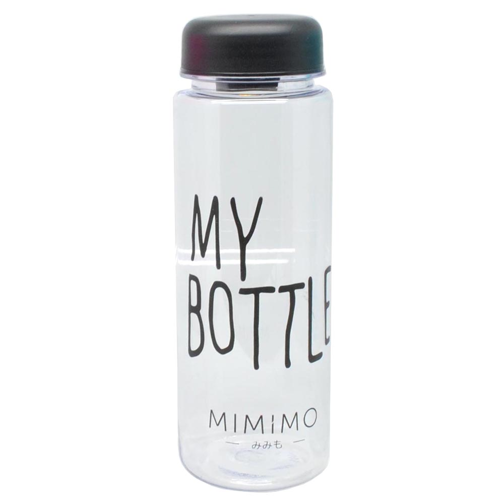 ... Botol Minum Plastik Bening Juice Lemon My Bottle 500ml - Black - 1 ...