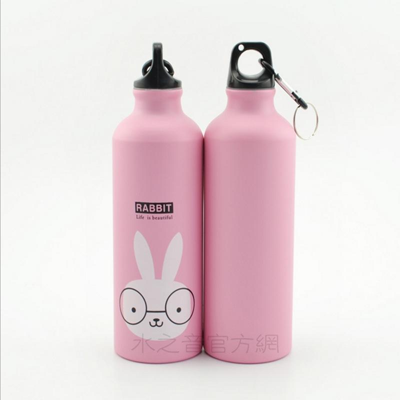 ... Botol Minum Kartun 500ml dengan Karabiner - Pink - 2 ...
