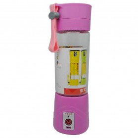Blender - Blender Jus Portable 380ml - Pink