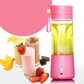 Blender Jus Portable 380ml - Pink - 2