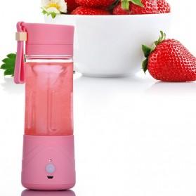 Blender Jus Portable 380ml - Pink - 5
