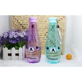 Botol Minum Rilakkuma 400ml - Rose - 7