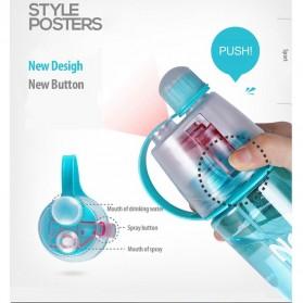 New B Botol Minum BPA Free dengan Sprayer 600ml - Pink - 3