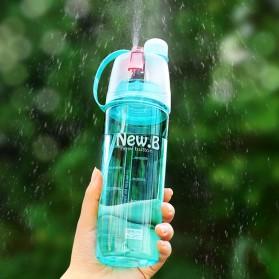 New B Botol Minum BPA Free dengan Sprayer 600ml - Pink - 4