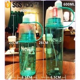 New B Botol Minum BPA Free dengan Sprayer 600ml - Pink - 9
