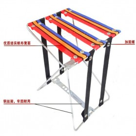 LEO Kursi Lipat Memancing Folding Stool Chair - XDZ-001 - 2