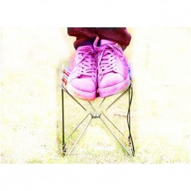 LEO Kursi Lipat Memancing Folding Stool Chair - XDZ-001 - 5