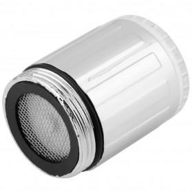 LED Keran Air 3 Colors Water Faucet Changing Temperature Sensor - Multi-Color - 3