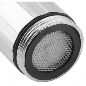 LED Keran Air 3 Colors Water Faucet Changing Temperature Sensor - Multi-Color - 7