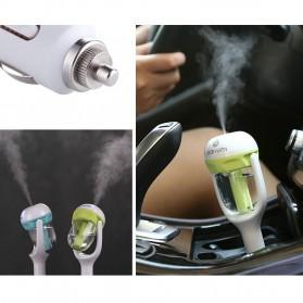 Aromaterapi Humidifier Mobil dengan Charger USB - Purple - 5