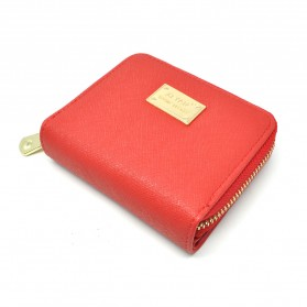 Dompet Wanita Leather Small Bag - Red - 1
