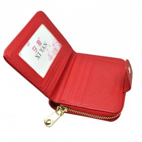 Dompet Wanita Leather Small Bag - Red - 2