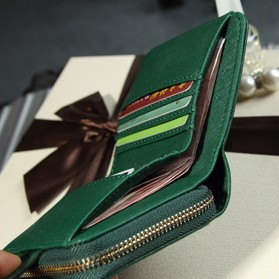 Dompet Wanita Leather Small Bag - Red - 11