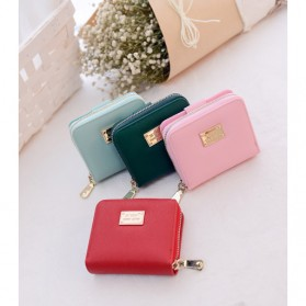 Dompet Wanita Leather Small Bag - Red - 13