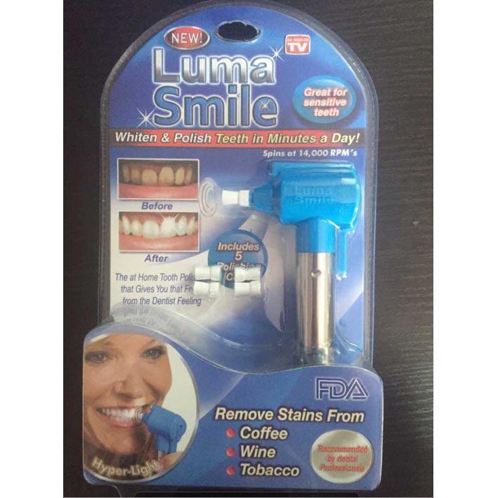 Luma Smile Alat Pemutih Gigi Dan Pembersih Noda Gigi Blue