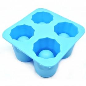 Cetakan Es Batu Cake Cooking Tool - Blue - 1