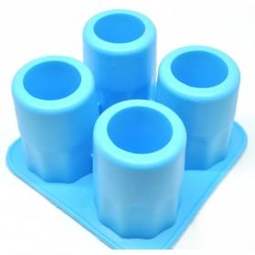 Cetakan Es Batu Cake Cooking Tool - Blue - 2