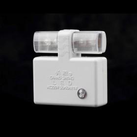 Chang Sheng Lampu Malam Otomatis Sensor Cahaya - CS-007 - White - 5