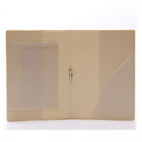Cover Passport dan Kartu Kredit - Brown - 4