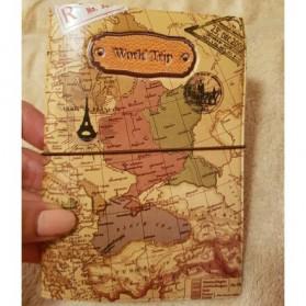 Cover Passport dan Kartu Kredit - Brown - 5