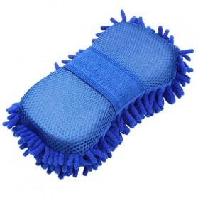 OTOHEROES Lap Microfiber Pembersih Kaca Mobil - TP266 - Blue - 3