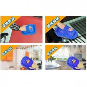 OTOHEROES Lap Microfiber Pembersih Kaca Mobil - TP266 - Blue - 10