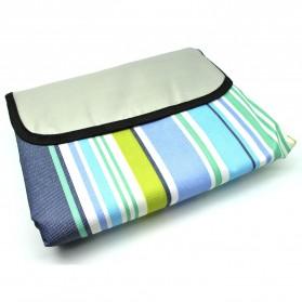 Karpet Piknik Alas Tidur Outdoor Waterproof 150 x 200cm - Blue - 2