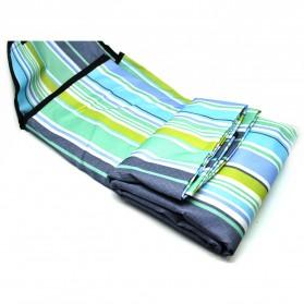 Karpet Piknik Alas Tidur Outdoor Waterproof 150 x 200cm - Blue - 3