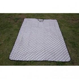 Karpet Piknik Alas Tidur Outdoor Waterproof 150 x 200cm - Blue - 4