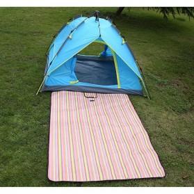 Karpet Piknik Alas Tidur Outdoor Waterproof 150 x 200cm - Blue - 7