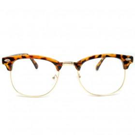 SOZO Kacamata Vintage Pria & Wanita - TR7 - Brown - 3