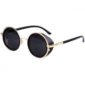 Kacamata Steampunk Pria & Wanita - Golden/Gray