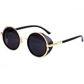 Kacamata Steampunk Pria & Wanita - Golden