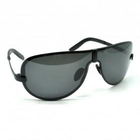 HDCRAFTER Kacamata Hitam Pria Polarized Sunglasses - Black