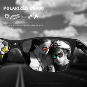 Veithdia Kacamata UV Polarized - Black/Gray - 6