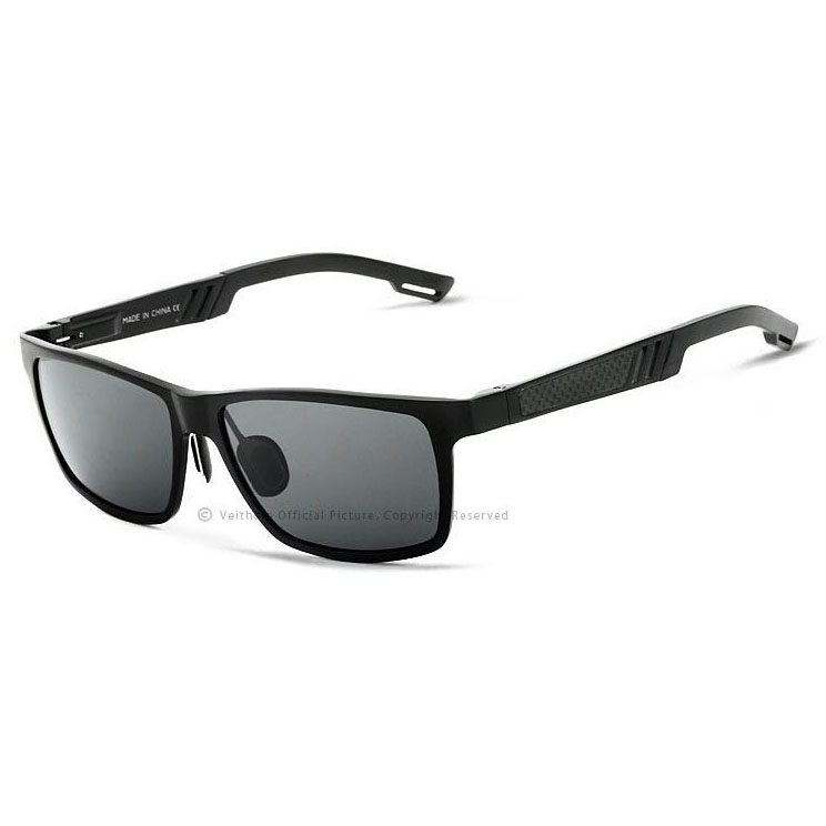 Veithdia Kacamata UV Polarized - Black Gray - JakartaNotebook.com d4f8ba2f85