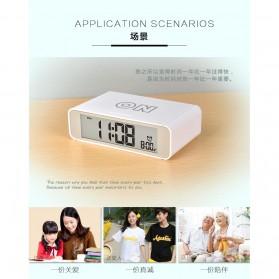 Jam Alarm Digital - White - 2