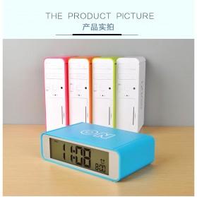 Jam Alarm Digital - White - 3