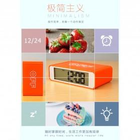 Jam Alarm Digital - White - 7