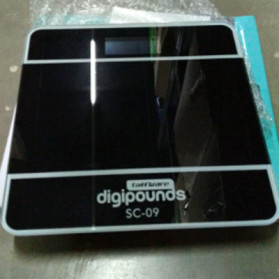 Taffware Digipounds Timbangan Badan Digital dengan Indikator Suhu - SC-09 - Pink - 12