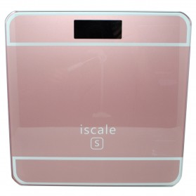 Taffware Digipounds Timbangan Badan Digital dengan Indikator Suhu - SC-09 - Pink
