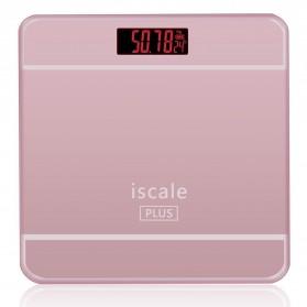Taffware Digipounds Timbangan Badan Digital dengan Indikator Suhu - SC-09 - Pink - 4