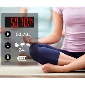 Taffware Digipounds Timbangan Badan Digital dengan Indikator Suhu - SC-09 - Pink - 5