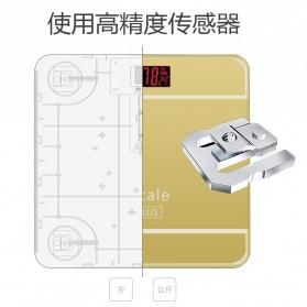 Taffware Digipounds Timbangan Badan Digital dengan Indikator Suhu - SC-09 - Pink - 7