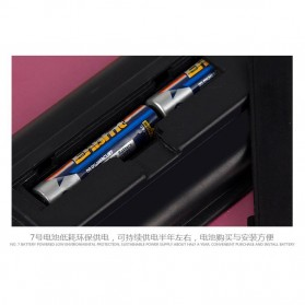 Taffware Digipounds Timbangan Badan Digital dengan Indikator Suhu - SC-09 - Pink - 9