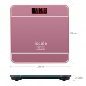 Taffware Digipounds Timbangan Badan Digital dengan Indikator Suhu - SC-09 - Pink - 10