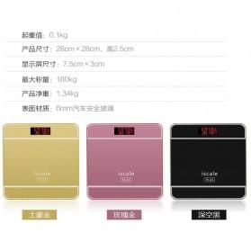 Taffware Digipounds Timbangan Badan Digital dengan Indikator Suhu - SC-09 - Pink - 11